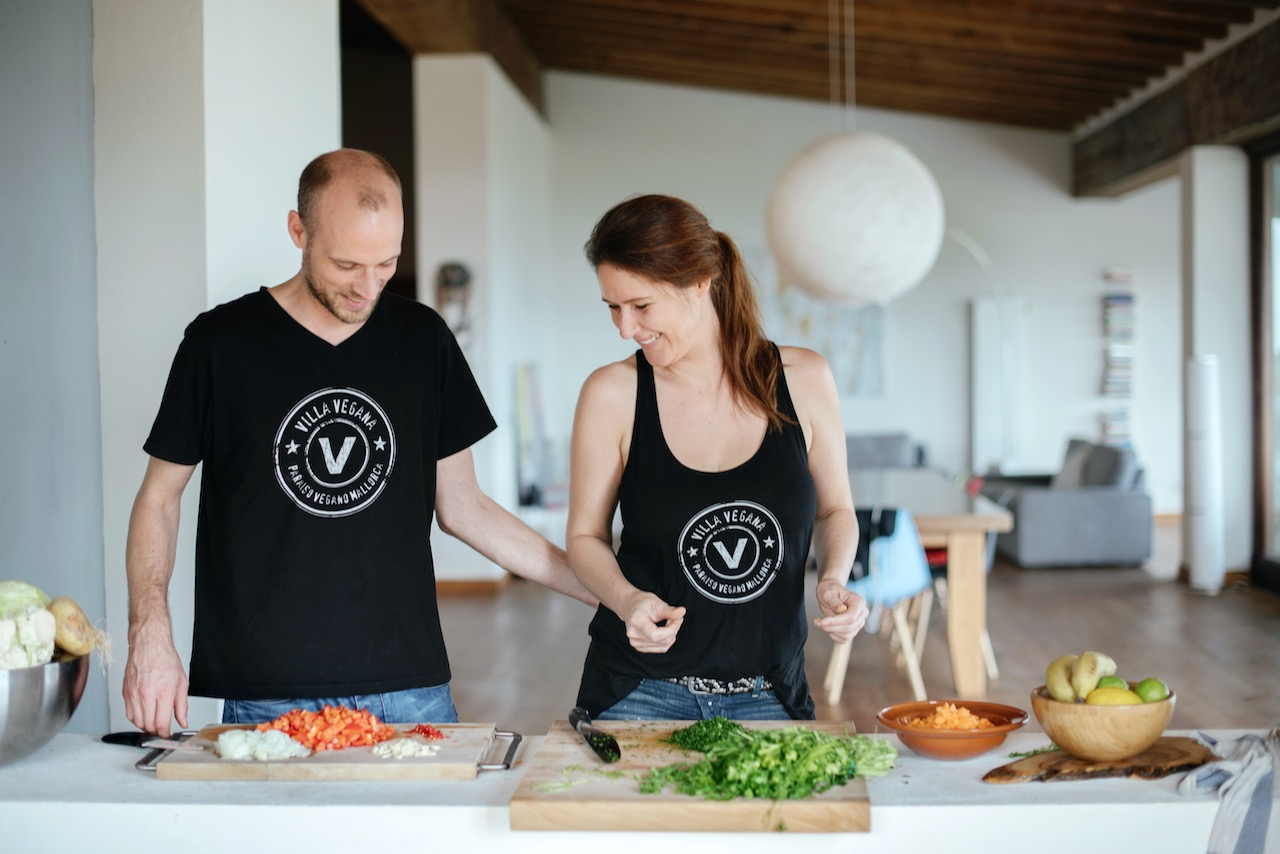Miriam und Jens Villa Vegana
