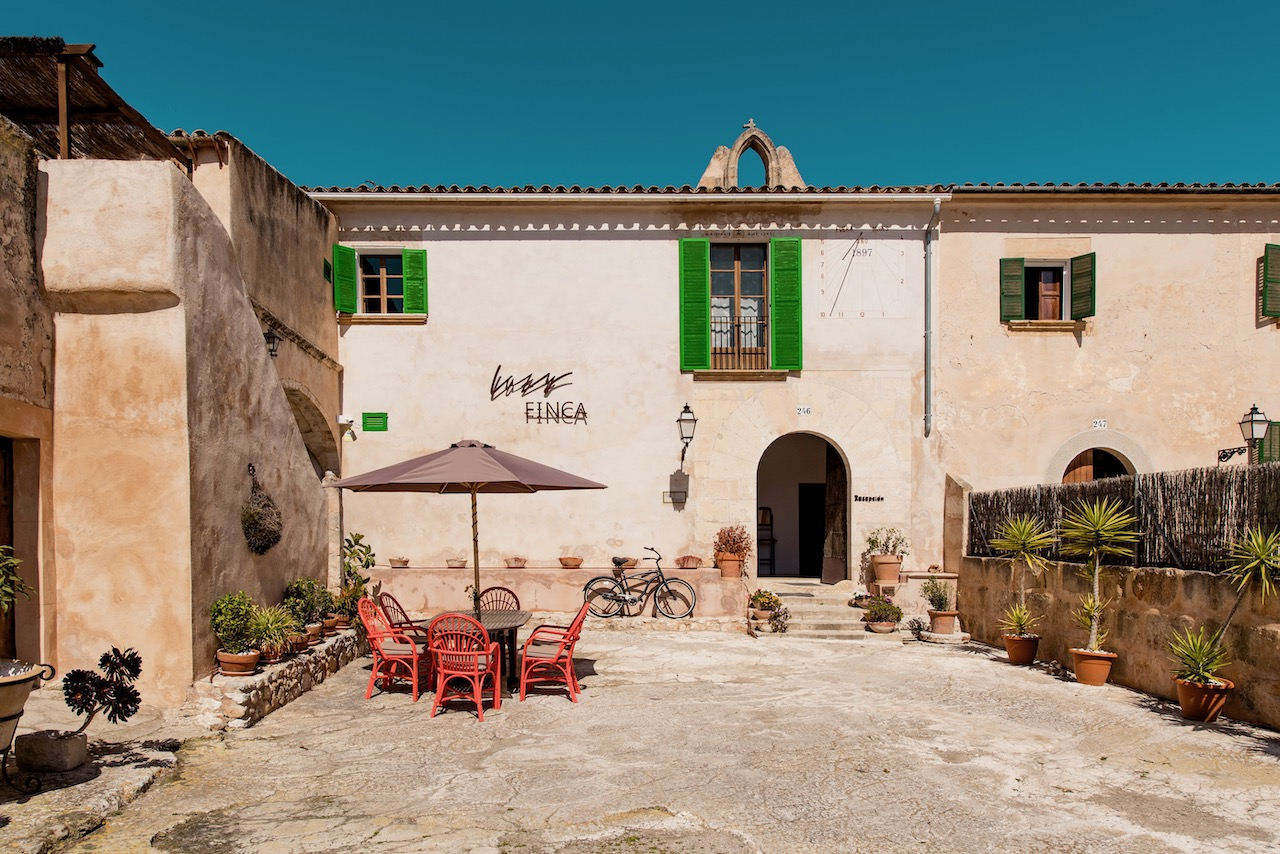 Frontansicht Lazy Finca Mallorca