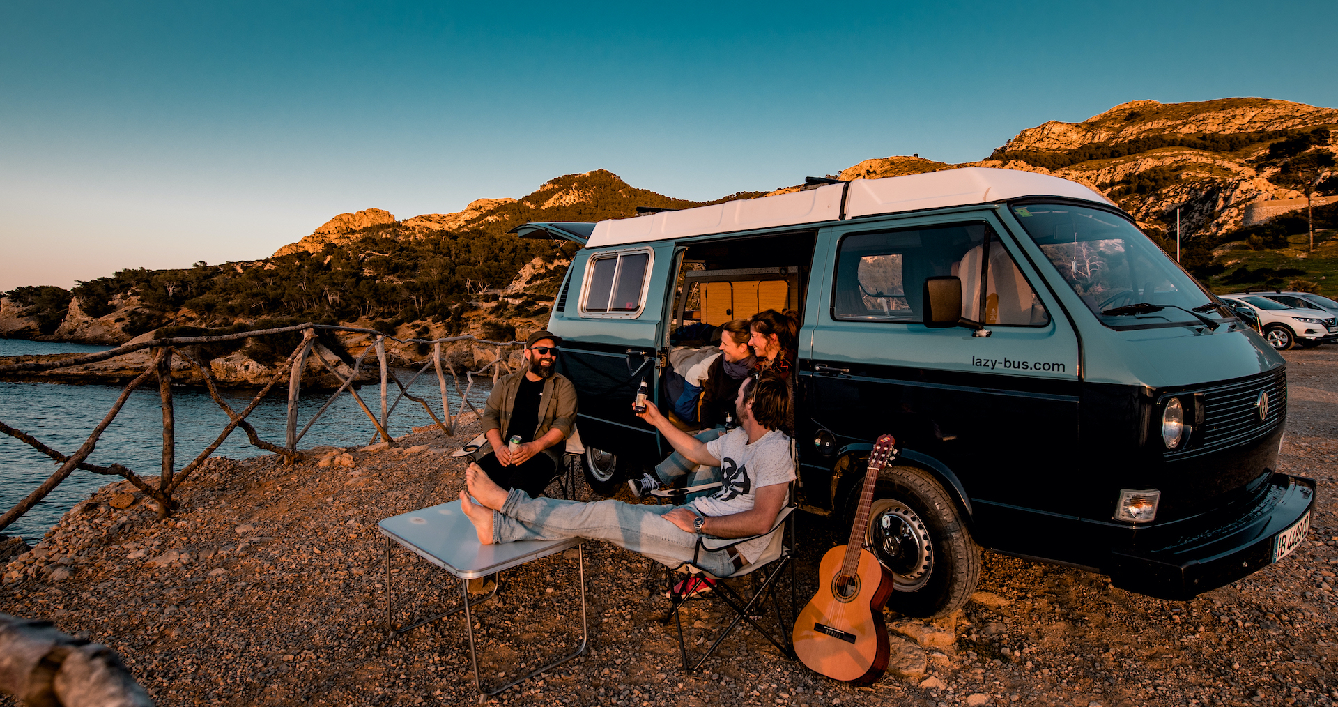 Ausflug unter Freunden mit Lazy Bus Mallorca