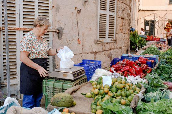 Markt in Sineu auf Mallorca